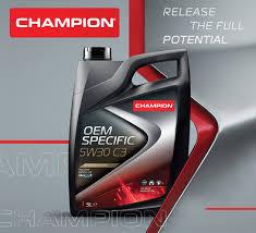 champion lubrificante